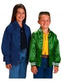 Satin Baseball Jacket (Light Lined) Youth