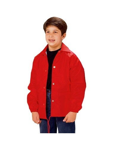 741d3f388a9 Cardinal Activewear Nylon Windbreaker Coaches Jacket Youth Wholesale