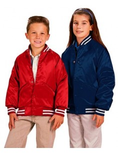 Cardinal Activewear Satin Baseball Jacket Light Lined Wholesale