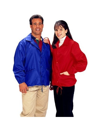 Cardinal Activewear Nylon Windbreaker Coaches Jacket Unlined Wholesale
